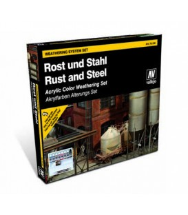 Set Vallejo Rust & Steel (Model Color)