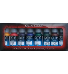 Set Vallejo Game Color 8 u. (17 ml.) Tintes.