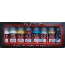 Set Vallejo Game Color 8 u. (17 ml.) Elfs.