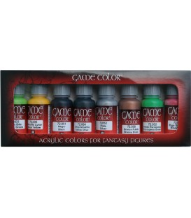 Set Vallejo Game Color 8 u. (17 ml.) Orcs and Goblins.