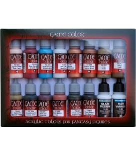 Set Vallejo Game Color 16 u. (17 ml.) Especialista.