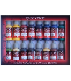 Set Vallejo Game Color 16 u. (17 ml.) Advanced.
