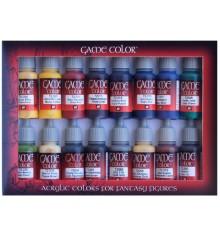 Set Vallejo Game Color 16 u. (17 ml.) Advanced.
