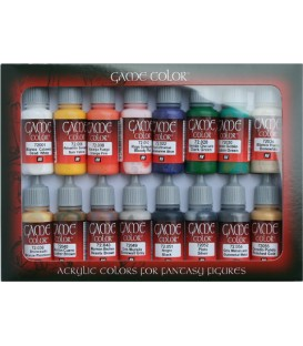 Set Vallejo Game Color 16 u. (17 ml.) Introduction.