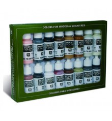Set Vallejo Model Color 16 u. (17 ml.) Imperio Romano