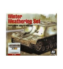 Set Vallejo Winter Weathering (Model Color).