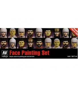 Set Vallejo Faces (Model Color).