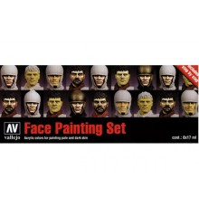Set Vallejo Faces (Model Color).