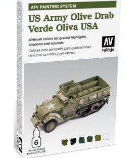 78.402 Set AFV Verd Oliva USA.