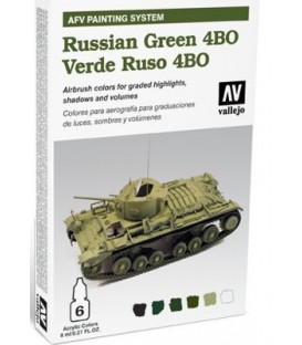 78.403 Set AFV Russian Green 4BO.