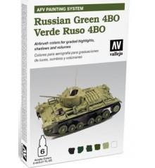 78.403 Set AFV Russian Green 4BO.