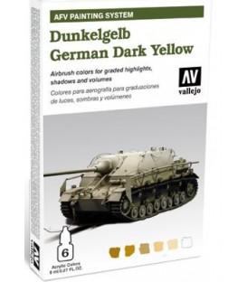 78.401 Set AFV Amarillo Oscuro Alemán.