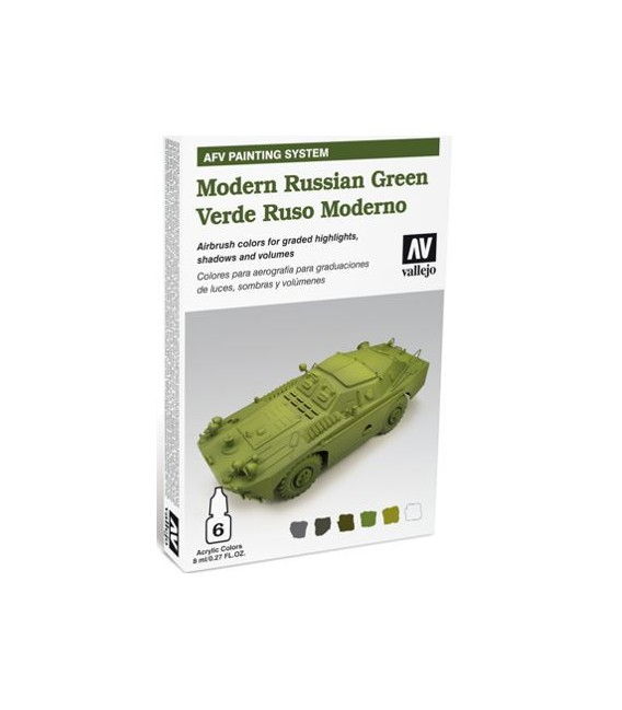 78.408 Set AFV Modern Russian Green.