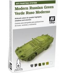 78.408 Set AFV Verde Ruso Moderno.