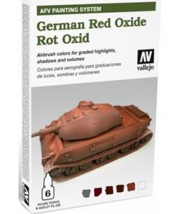 78.411 Set AFV Óxido Rojo Alemán.
