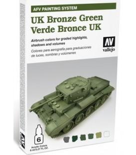 78.407 Set AFV UK Bronze Green.