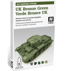 78.407 Set AFV UK Bronze Green.