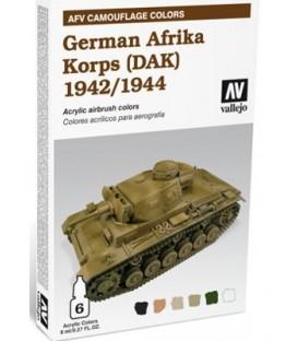 78.410 Set AFV Afrika Korps Alemany 1942-1944 (DAK).