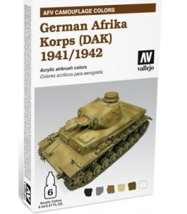 78.409 Set AFV German Afrika Korps 1941-1942 (DAK).