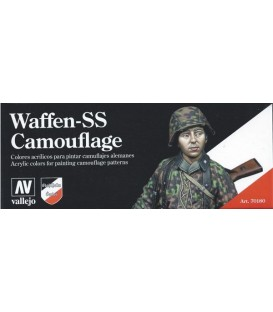 Set Vallejo Model Color 8 u. (17 ml.) Waffen SS Camouflage