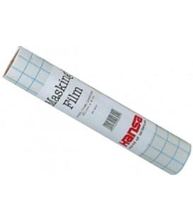 d) Film masque adhesive pour aerografie mat 30 cms x 4 mts.