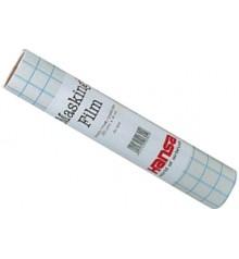 d) Airbrush masking adhesive film matt 30 cms x 4 mts.