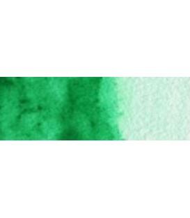 21) 329 Intense green watercolor pan Cotman.