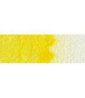 01) 346 Lemon yellow hue watercolor pan Cotman.