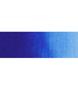 43) 583 Phthalo blue reddish watercolor pan Rembrandt.