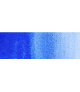 39) 512 Azul cobalto (ultramarino) acuarela pastilla Rembrandt.