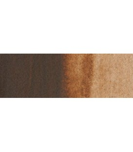 72) 409 Burnt umber watercolor tube Rembrandt 5 ml.
