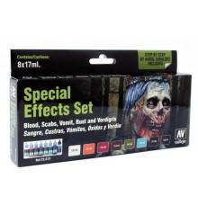 Set Vallejo Game Color 8 u. (17 ml.) Efectes Especials.