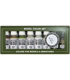 Set Vallejo Model Color 8 u. (17 ml.) Walls