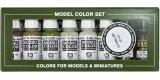 Set Vallejo Model Color 8 u. (17 ml.) Walls