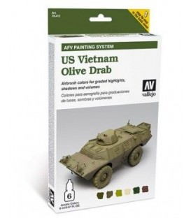 78.412 Set AFV US Vietnam Olive Grab.