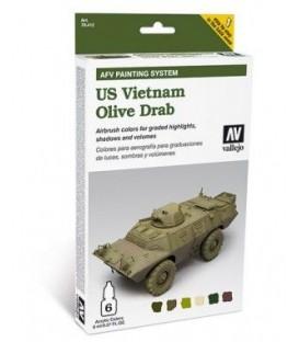 78.412 Set AFV US Vietnam Verde Oliva.