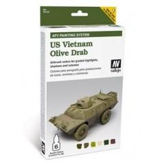 78.412 Set AFV US Vietnam Olive Grab.