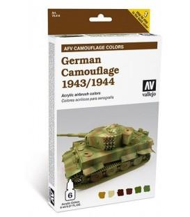 78.414 Set AFV German Camouflage 1943-1944.
