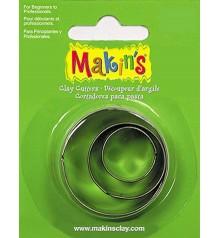 36001 Cercles Set de 3 talladors Makins
