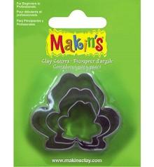 36010 Granotes Set de 3 talladors Makins