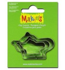 36024 Teteres Set de 3 talladors Makins