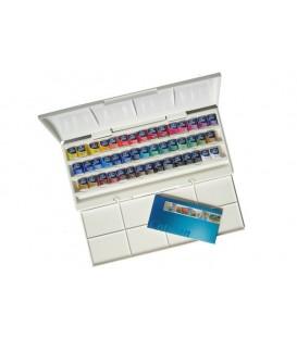 Caixa Aquarel.la plastic Cotman 45 pastilles