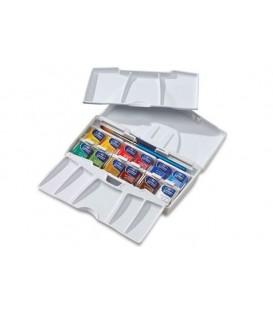Caixa Aquarel.la plastic Cotman butxaca plus 12 pastilles