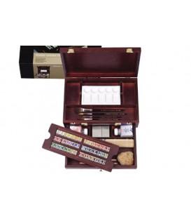 Caja acuarela madera Rembrandt Caja Master 42 pastillas