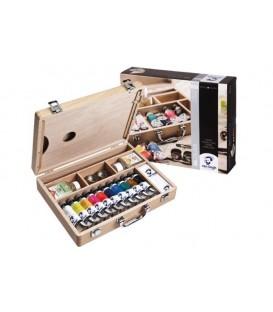 Oil paint color set Van Gogh Basic wood 10 tubes