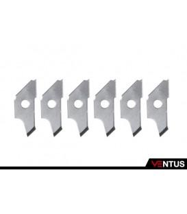Cuchillas de recambio cortador circular de 1 a 15 cm Ø