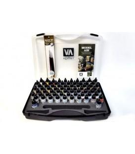 Plastic case Vallejo Model Air Basic colors 72 u. (17 ml.)