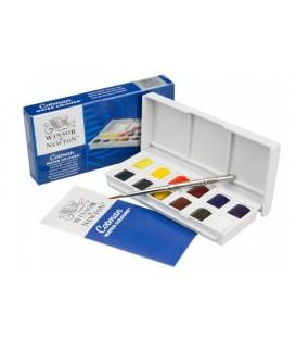 Water color plastic set Cotman sketchers 12 pans