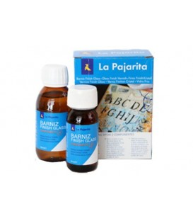 Vernice epossidica Finish Glass La Pajarita 180 ml. (kit 2 comp.