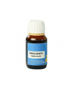 Disolvente Finish Glass La Pajarita 50 ml.